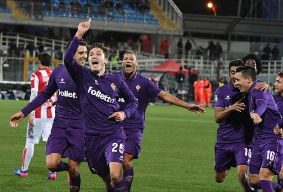 Fiorentina beat Pescara