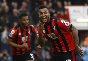 Joshua King's hat-trick awarded Bournemouth the first league victory of 2017