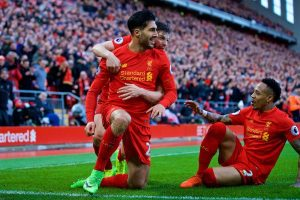 Liverpool wins from a trailing position, to remain at the top 4