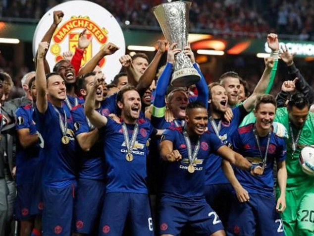 Man Utd win Europa League title