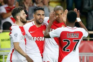 AS Monaco lift the French Ligue 1 title in style