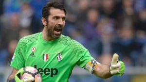 Juventus legend Buffon on the edge of his first ever UCL title