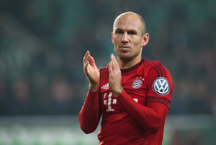 Robben at Man Utd