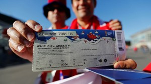 FIFA world cup 1st day request of 500,000 tickets break down all past record