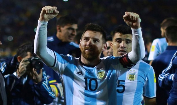 Hat-trick of Messi vs Ecuador