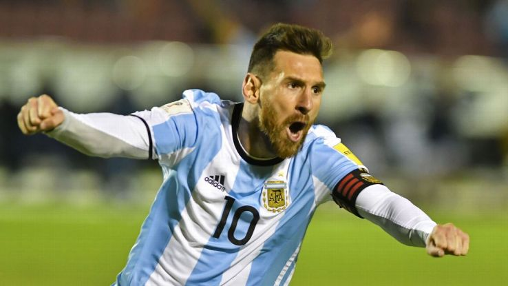 Messi in World cup