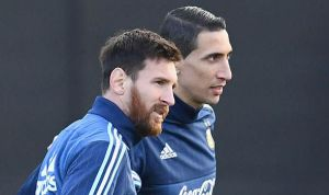 Argentina star Messi being the best ever excepting World Cup: Di Maria