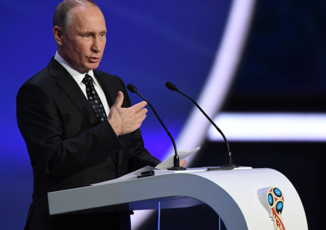 Russia President FIFA world cup 2018