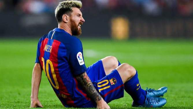messi injury ahead world cup