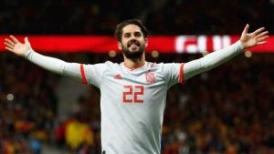 Hat-trick of Spain play-maker Isco made him confident for World Cup 2018