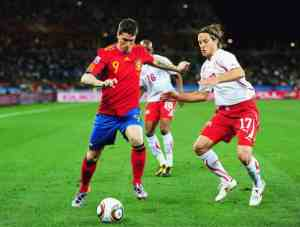 Spain and Switzerland World Cup warm-up match finished with draw