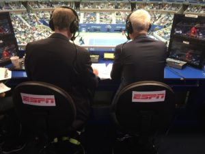 Pic - US Open - Booth - Patrick John from behind