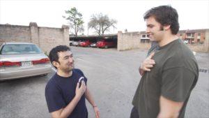 Azim and AV smile