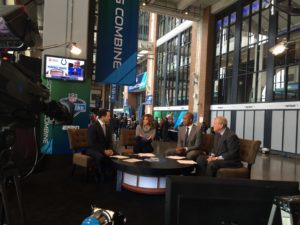 NFL Insiders at the Combine
