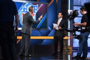 Bristol, CT - October 2, 2016 - Studio W: Adam Schefter on the set of NFL Insiders: Sunday Edition (Photo by Joe Faraoni / ESPN Images)