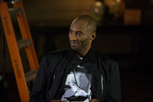 La Quinta, CA - January 13, 2014: Kobe Bryant during ESPN Town Hall: Kids and Sports (Photo by Eddie Perlas / ESPN Images)