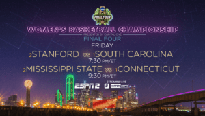 WCBB Final Four EP Friday