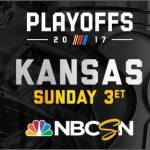 NBCSN PRESENTS MONSTER ENERGY NASCAR CUP SERIES PLAYOFFS ROUND OF 12 ELIMINATION RACE FROM KANSAS SPEEDWAY – SUNDAY, OCTOBER 22, AT 3 P.M. ET