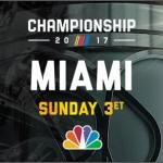 "NBC SPORTS' 2017 MONSTER ENERGY NASCAR CUP SERIES CHAMPIONSHIP COVERAGE ""BY THE NUMBERS"""