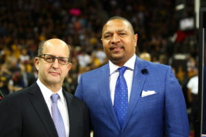 Jeff Van Gundy and Mark Jackson