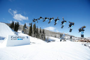 Aspen, CO - January 29, 2016 - Buttermilk Mountain: Spencer O'Brien competing in Women's Snowboard SlopeStyle Final during X Games Aspen 2016 (Photo by Eddie Perlas / ESPN Images)