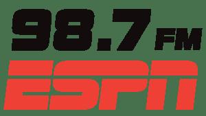 ESPN Radio 98.7 FM Logo