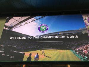 Welcome to Wimbledon
