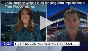 Dr. Brian Cole weighs in on the long term implications of Tiger Woods' injuries