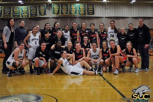 SCC Women's Basketball and Team NPIRE from Australia.