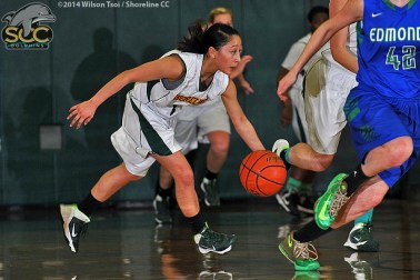 Shoreline CC women's basketball team hosts its divisional rival Edmonds CC in a NWAACC North contest