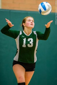 Shoreline CC volleyball team hosts Bellevue College
