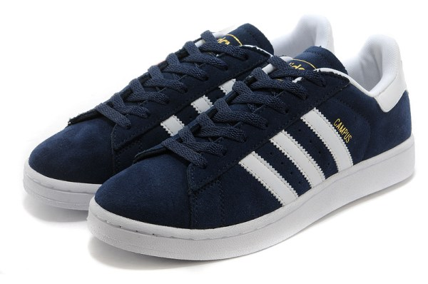 low priced 72328 b2a04 ADIDAS SUPERSTAR 80S VINTAGE DELUXE SUEDE - WOMEN & MEN SHOES - NAVY - WHITE