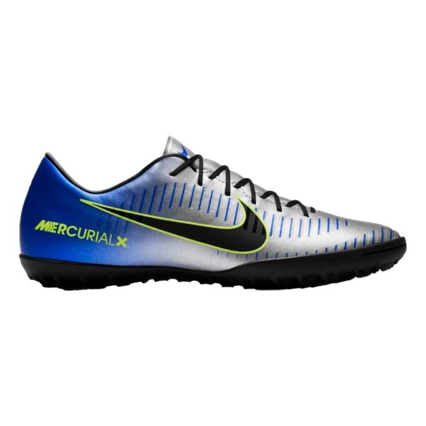 Mercurial Blue Silver and Black