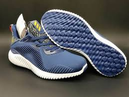 Alphabounce blue running shoes