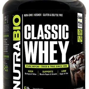Nutrabio Classic Whey Protein-5lbs