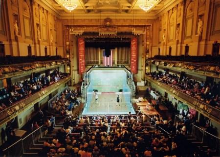 US Open Squash - Boston Symphony Hall