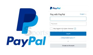 Log into PayPal