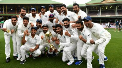 Photo of Watch India celebrate historic series victory against Australia with Bharat Army