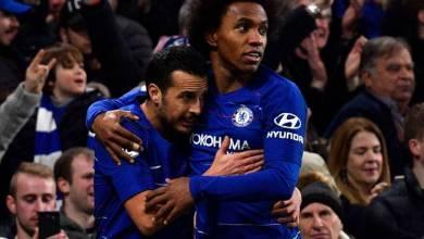 Photo of Chelsea 2 Newcastle United 1: Pedro, Willian lift the Blues