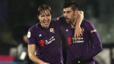 Photo of Fiorentina 7 Roma 1: Chiesa treble books Coppa Italia semi-final