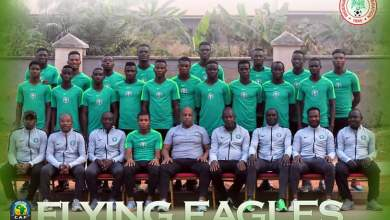 Photo of AYC: Flying Eagles depart for Niger