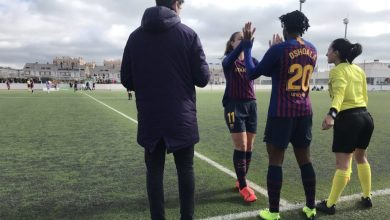 Photo of VIDEO: Watch Asisat Oshoala's first goal for Barcelona – What a goal!