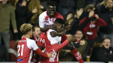 Photo of Awoniyi scores goal no 11 in Mouscron home loss