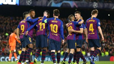 Photo of Barcelona 5 Lyon 1 (5-1 agg): Messi leads as LaLiga giants move into quarter-finals