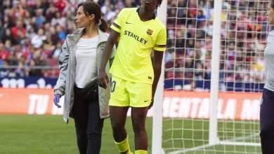 Photo of Asisat Oshoala pulls hamstring, out of Barça v LSK Kvinner champions league tie