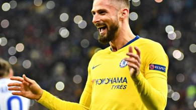 Photo of Dynamo Kiev 0 Chelsea 5 (0-8 agg): Giroud's perfect hattrick, & Odoi strike fire Blues into quarter-finals