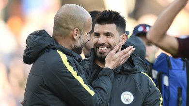 Photo of Aguero wins Premier League Player of the Month, Guardiola claims manager prize