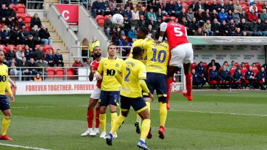 Photo of Semi Ajayi's brace helps Rotherham secure first win since New Year's Day