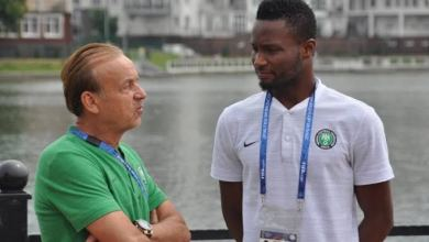 Photo of AFCON 2019: Finidi wants Rohr to talk to Mikel, says Eagles need him in Egypt