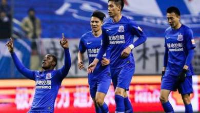 Photo of Odion Ighalo bags brace as Shanghai Shenhua trash Sone Aluko's Beijing Renhe